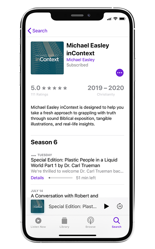 inContext on Apple Podcasts