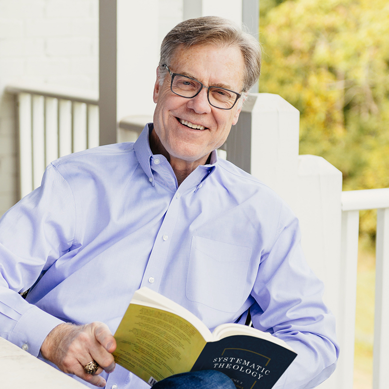 Dr. Michael Easley on Porch